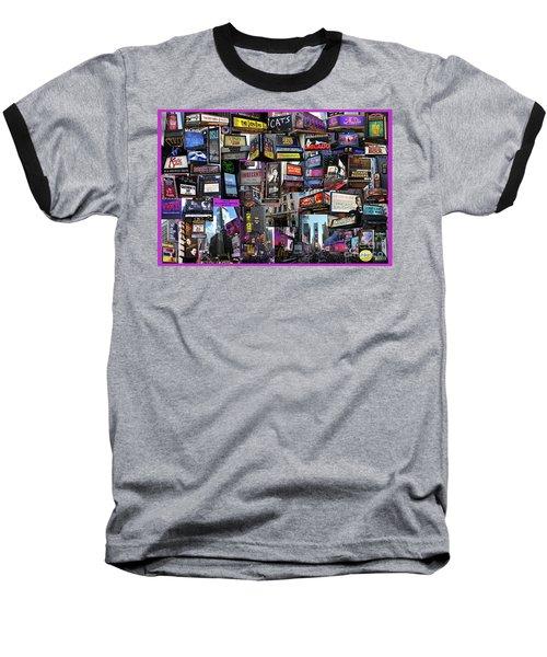2017 Broadway Spring Collage Baseball T-Shirt