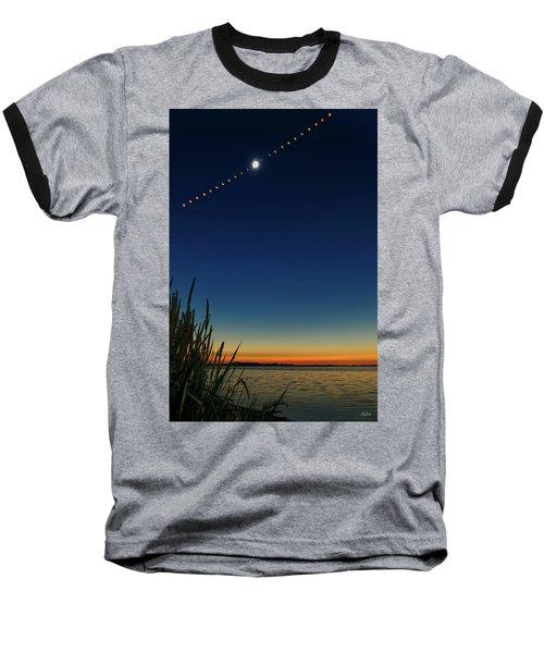 2017 Great American Eclipse Baseball T-Shirt