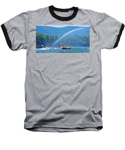 2017 Poker Run, Smith Mountain Lake, Virginia Baseball T-Shirt