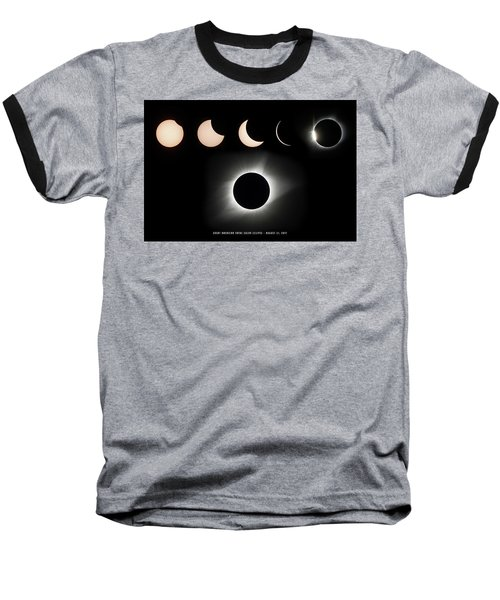 2017 Solar Eclipse Composite Baseball T-Shirt