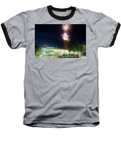 2017 Three Rivers Festival Aep Fireworks Baseball T-Shirt