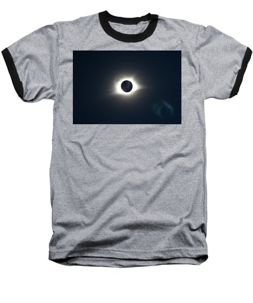 2017 Total Solar Eclipse Baseball T-Shirt
