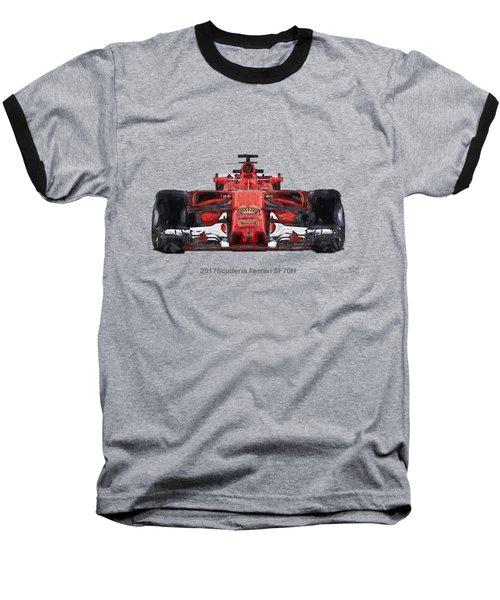 2017scuderia Ferrari Sf70h Baseball T-Shirt