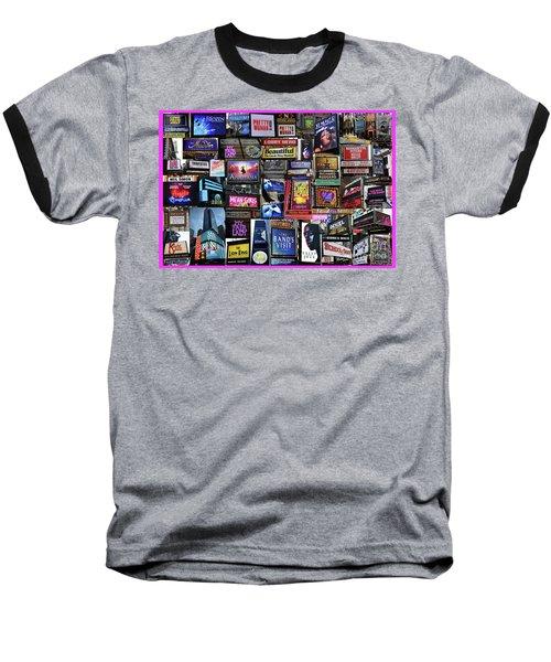 2018 Broadway Spring Collage Baseball T-Shirt