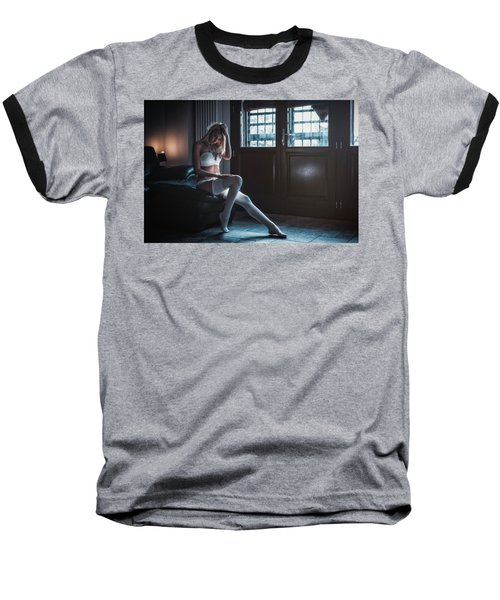 Baseball T-Shirt featuring the photograph ... by Traven Milovich