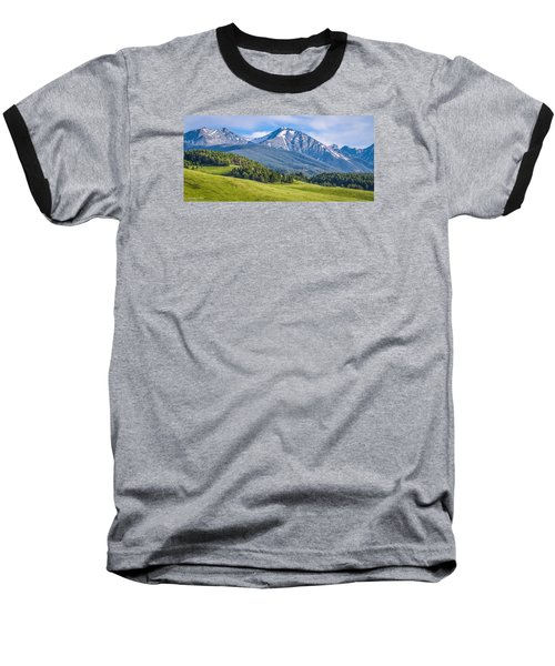 #215 - Spanish Peaks, Southwest Montana Baseball T-Shirt
