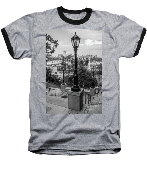 215th Street Stairs  Baseball T-Shirt