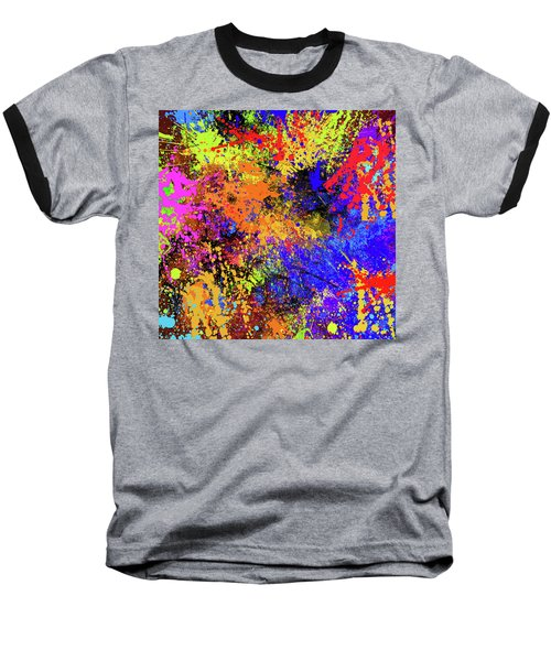 Abstract Composition Baseball T-Shirt by Samiran Sarkar