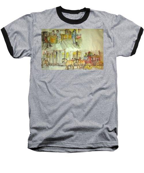 the ole' West my way album Baseball T-Shirt by Debbi Saccomanno Chan