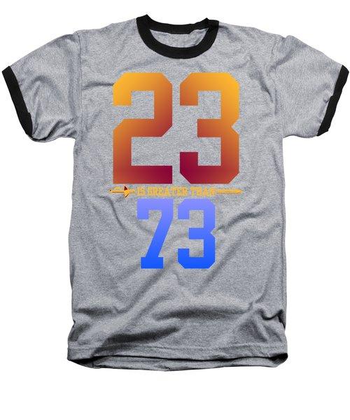 2373-2 Baseball T-Shirt by Augen Baratbate