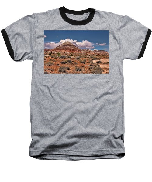 Capitol Reef National Park Catherdal Valley Baseball T-Shirt