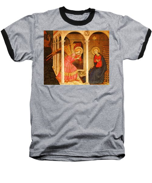 Fra Angelico  Baseball T-Shirt by Fra Angelico