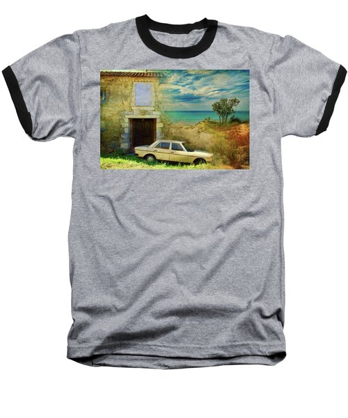 24 Hr Parking By The Beach Baseball T-Shirt