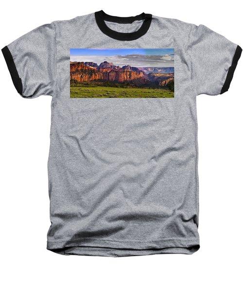 Zion National Park Baseball T-Shirt