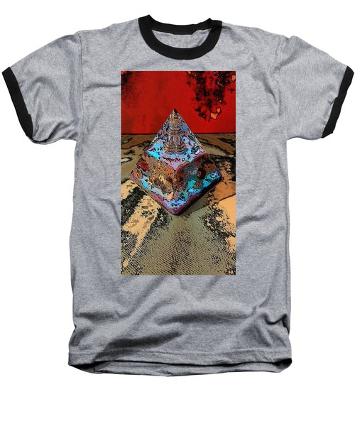 Abstract Orgone Baseball T-Shirt