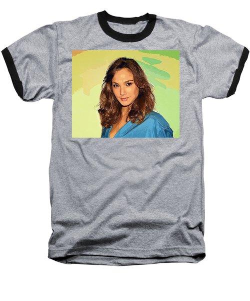 Gal Gadot Art Baseball T-Shirt by Best Actors