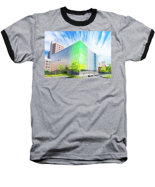 Baseball T-Shirt featuring the photograph Modern Architecture by Hans Engbers