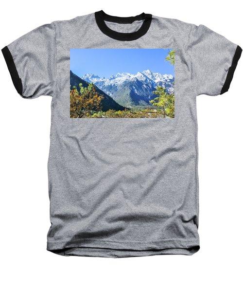 The Plateau Scenery Baseball T-Shirt