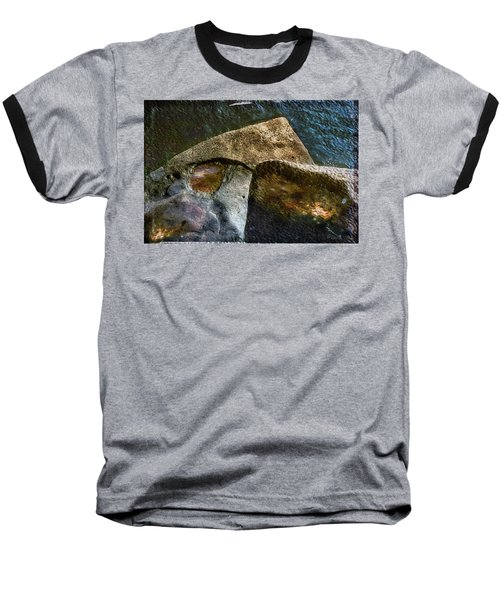 Stone Sharkhead Baseball T-Shirt