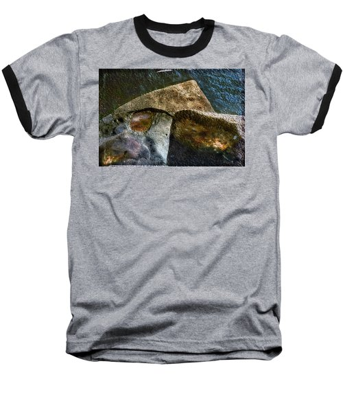 Stone Sharkhead Baseball T-Shirt