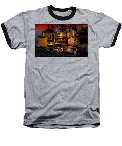 #268 Is Simmering Baseball T-Shirt by J Griff Griffin