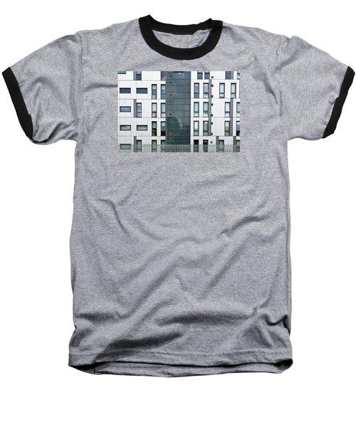 Modern Building Baseball T-Shirt