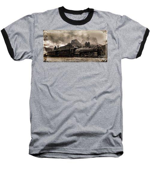 2816 Empress At Three Sisters - Canmore Baseball T-Shirt