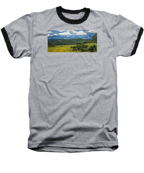 #2918 - Sneffles Range, Colorado Baseball T-Shirt