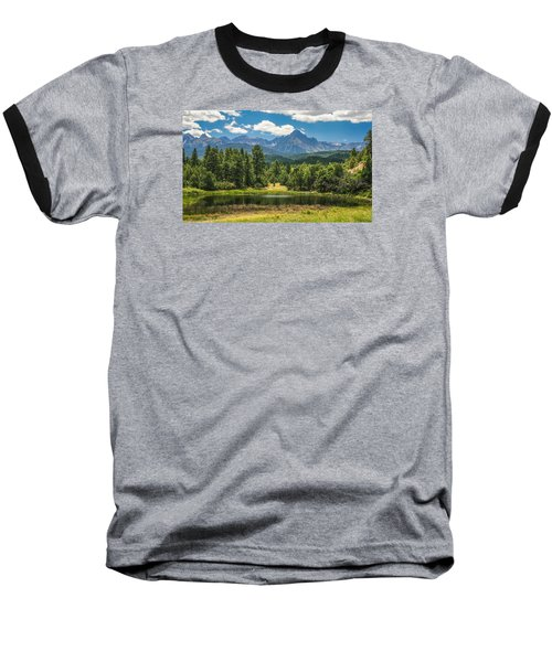 #2933 - Sneffles Range, Colorado Baseball T-Shirt