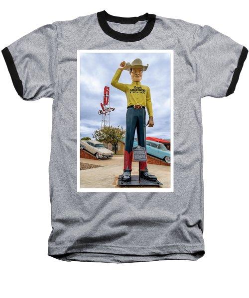 2nd Amendment Cowboy Baseball T-Shirt