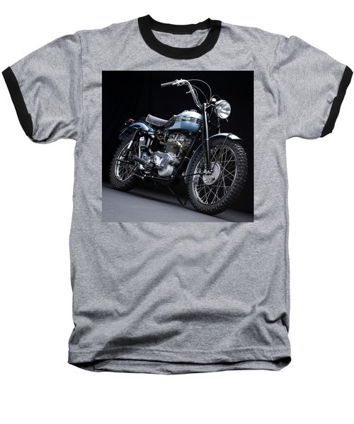1949 Triumph Trophy Baseball T-Shirt