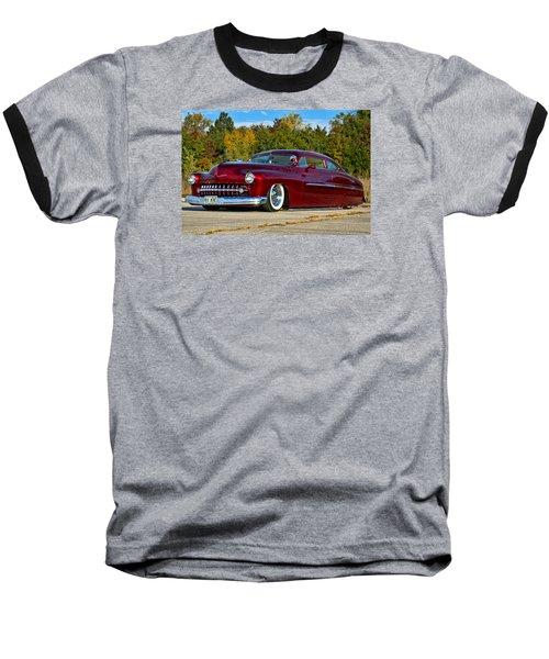 1951 Mercury Low Rider Baseball T-Shirt by Tim McCullough