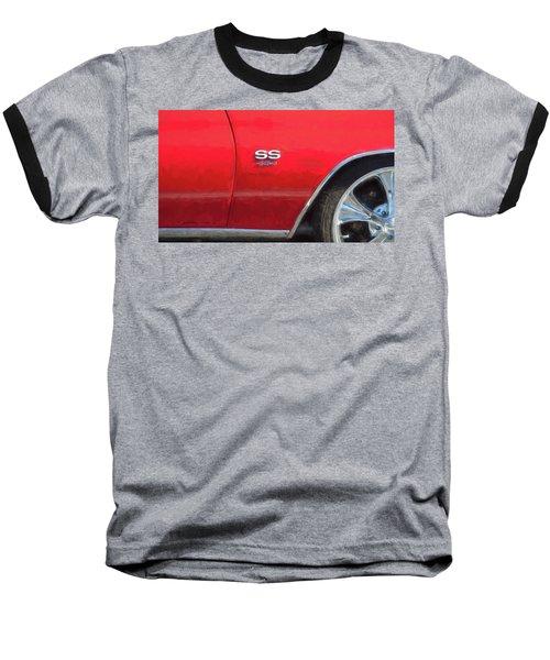 1970 Chevy Chevelle 454 Ss  Baseball T-Shirt by Rich Franco