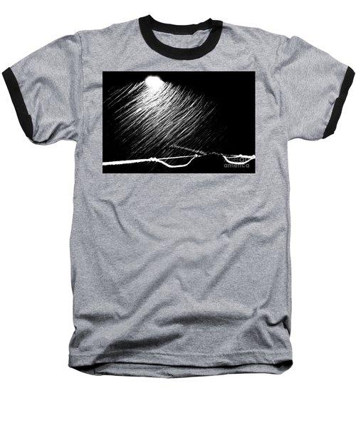 3-21-16 Snow Baseball T-Shirt by Steven Macanka