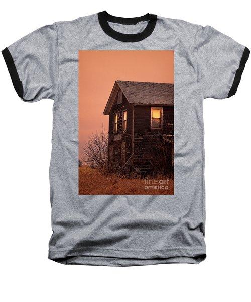 Baseball T-Shirt featuring the photograph Abandoned House by Jill Battaglia