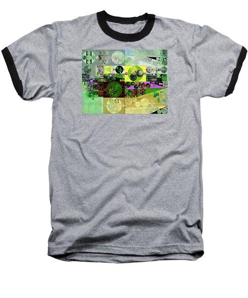 Abstract Painting - Black Bean Baseball T-Shirt by Vitaliy Gladkiy