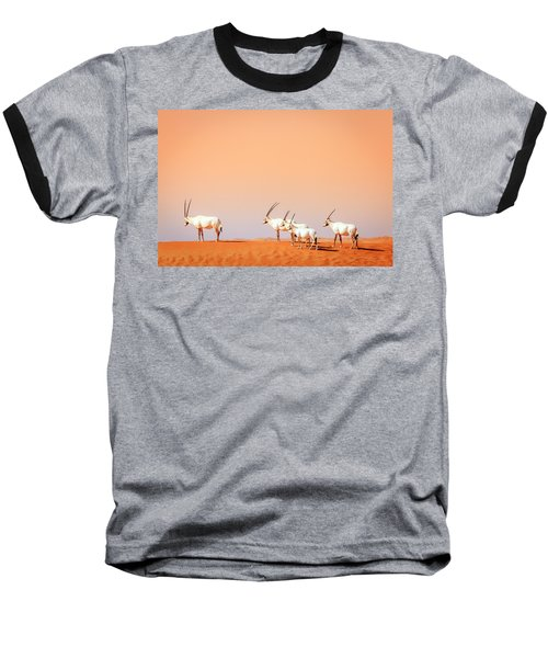 Baseball T-Shirt featuring the photograph Arabian Oryx by Alexey Stiop