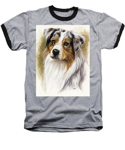 Australian Shepherd Baseball T-Shirt