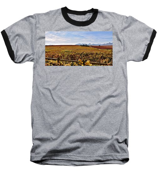 Autumn In The Vineyard Baseball T-Shirt