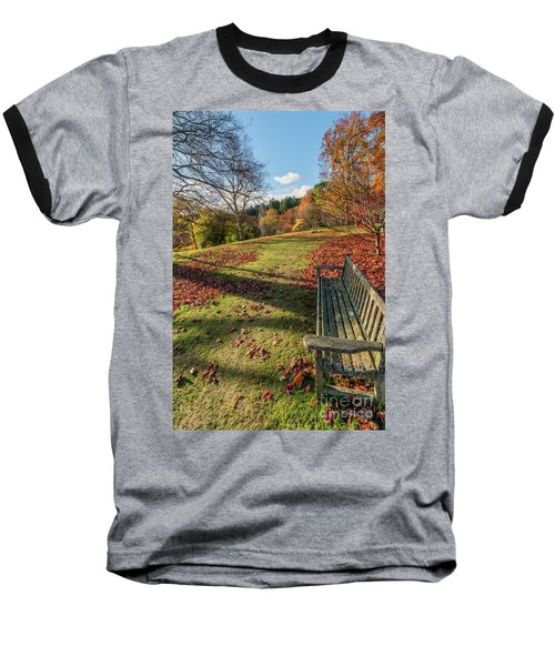 Baseball T-Shirt featuring the photograph Autumn Leaves by Adrian Evans