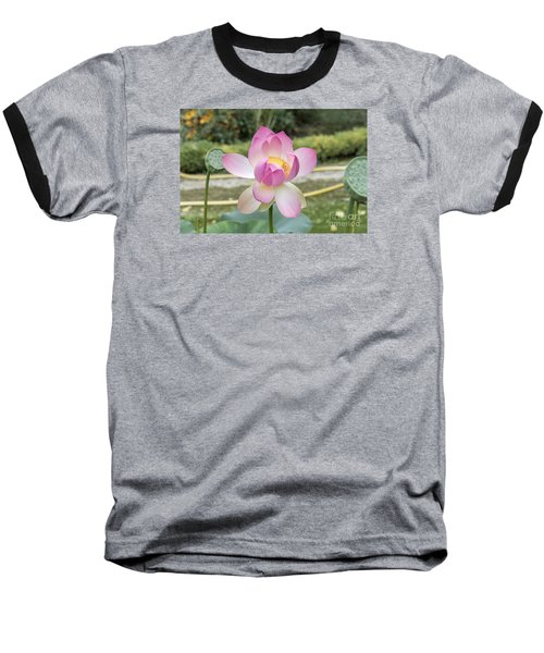 Beautiful Indian Lotus Baseball T-Shirt