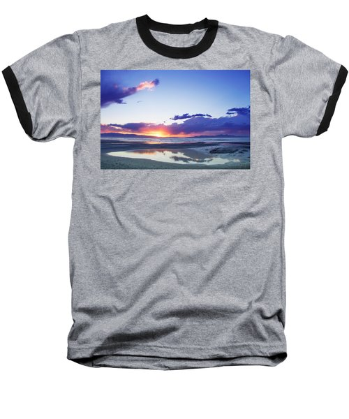 Beautiful Sunset Baseball T-Shirt