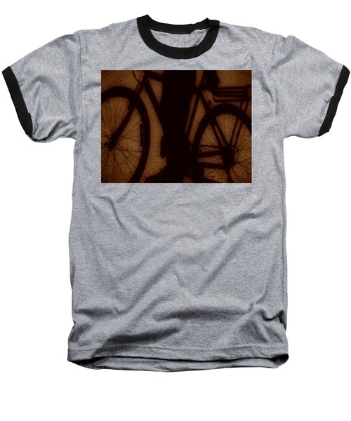 Bike Baseball T-Shirt by Beto Machado