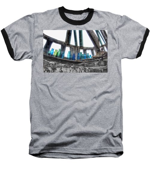 Bromo Seltzer Vintage Glass Bottles Baseball T-Shirt