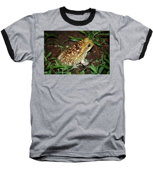 Cane Toad Baseball T-Shirt