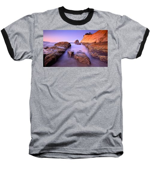 Cape Kiwanda Baseball T-Shirt