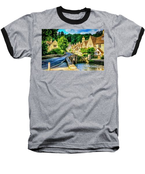 Castle Combe Village, Uk Baseball T-Shirt
