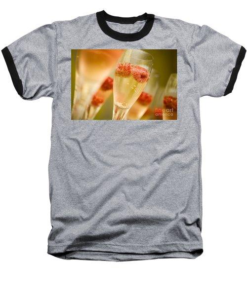 Champagne Baseball T-Shirt