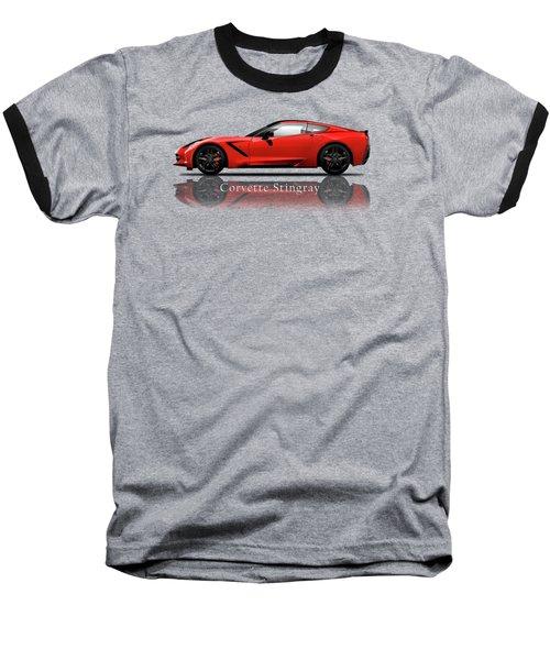 Chevrolet Corvette Stingray Baseball T-Shirt