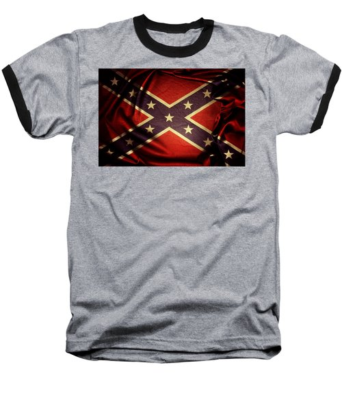 Confederate Flag 6 Baseball T-Shirt